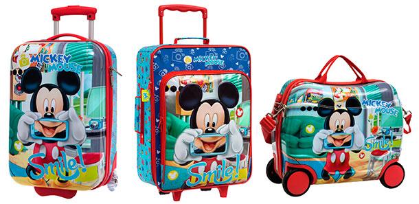 Maletas infantiles Mickey