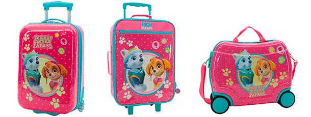 maleta correpasillos patrulla canina girl