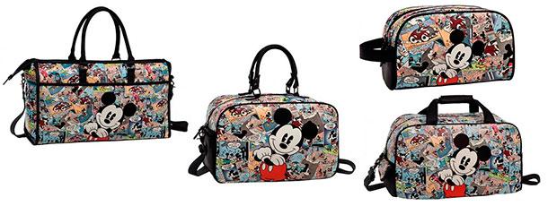 maletas infantiles chicos bolsos necceser mickey