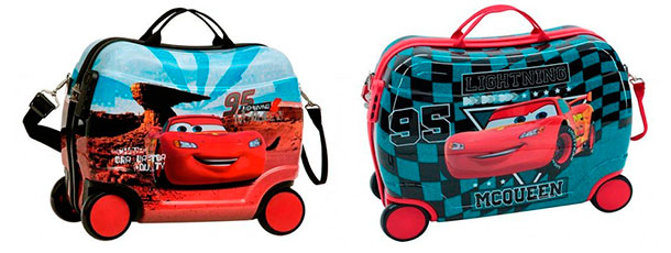 maletas infantiles chicos correpasillos cars