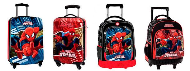 maletas infantiles chicos mochilas spiderman