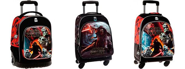 maletas infantiles chicos mochilas star wars