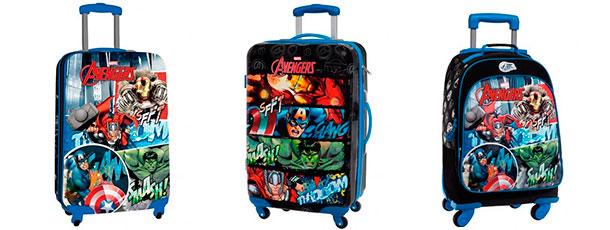 maletas infantiles chicos mochilas vengadores