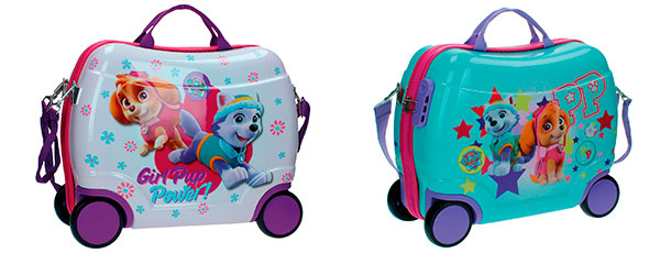 maletas correpasillos patrulla canina chicas