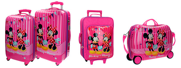 maletas disney minnie mickey