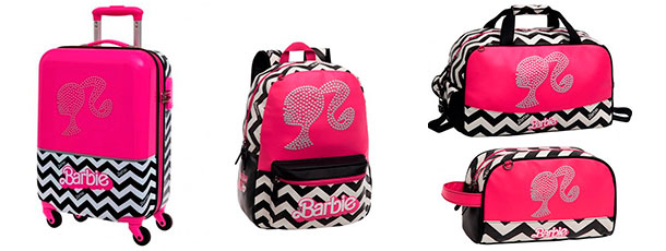 maletas mochila neceser barbie