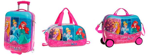 maletas neceser correpasillo disney princesas