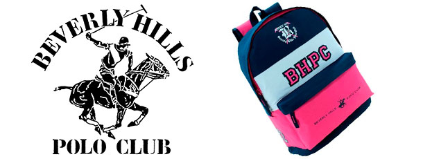 mochilas niñas beverly hills polo club