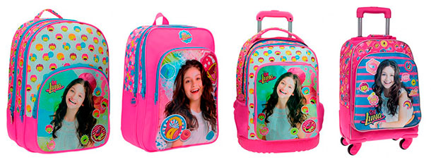 mochilas infantiles para niñas soy luna