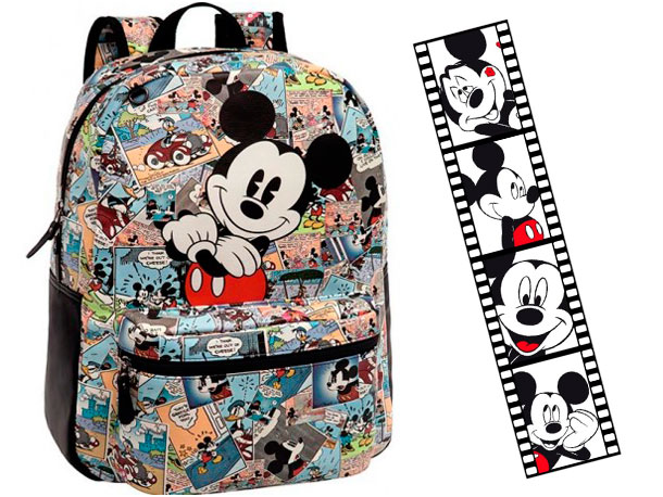 mochilas infantiles para niños mickey mouse