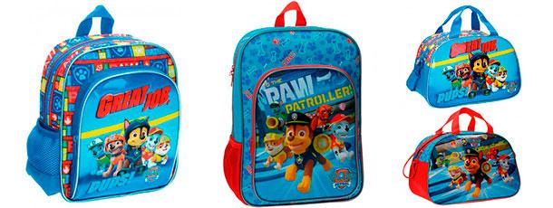 mochilas infantiles para niños patrulla canina paw patrol