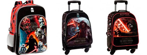 mochilas infantiles para niños star wars