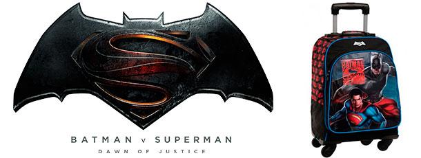 mochilas infantiles para niños superman batman