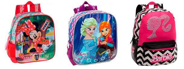 mochilas infantiles chicas