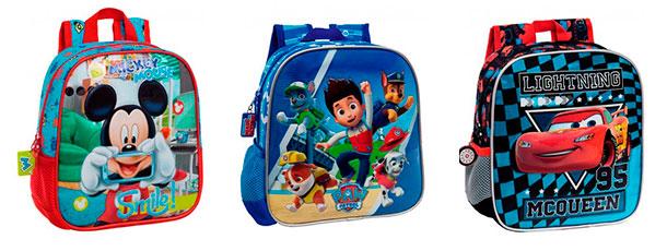 mochilas infantiles chicos
