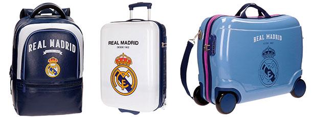 Maletas y mochilas del Real Madrid
