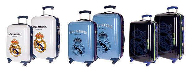 Maletas y mochilas del Real Madrid - tamaños
