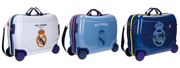 Maletas y mochilas del Real Madrid - colores