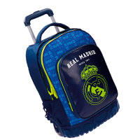 mochilas maletas real madrid