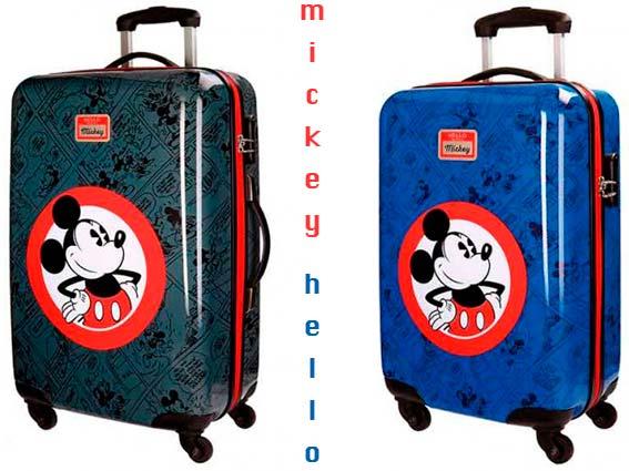 Maletas infantiles Mickey para niños