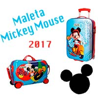 Maletas Mickey Mouse 2017