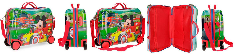 Maleta correpasillos Mickey Roadster Racers