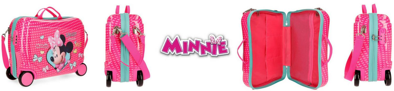 Maleta correpasillos Minnie