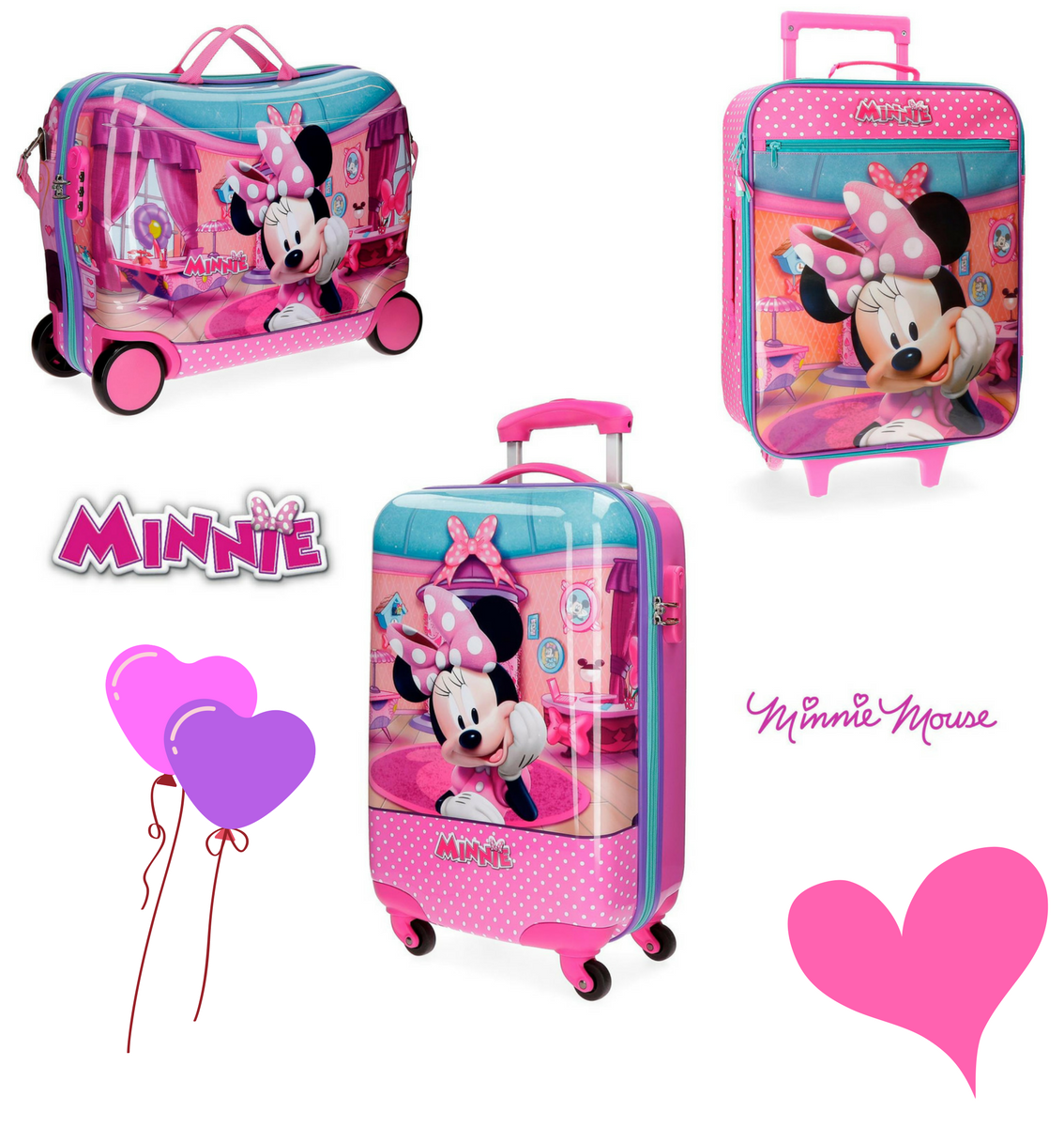 Maletas Minnie
