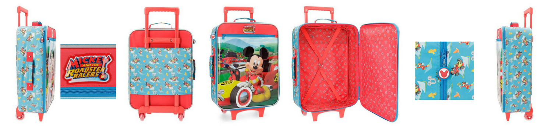 maleta blanda Mickey Roadster Racers
