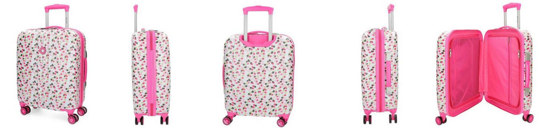 maleta Movom Confeti cabina rosa