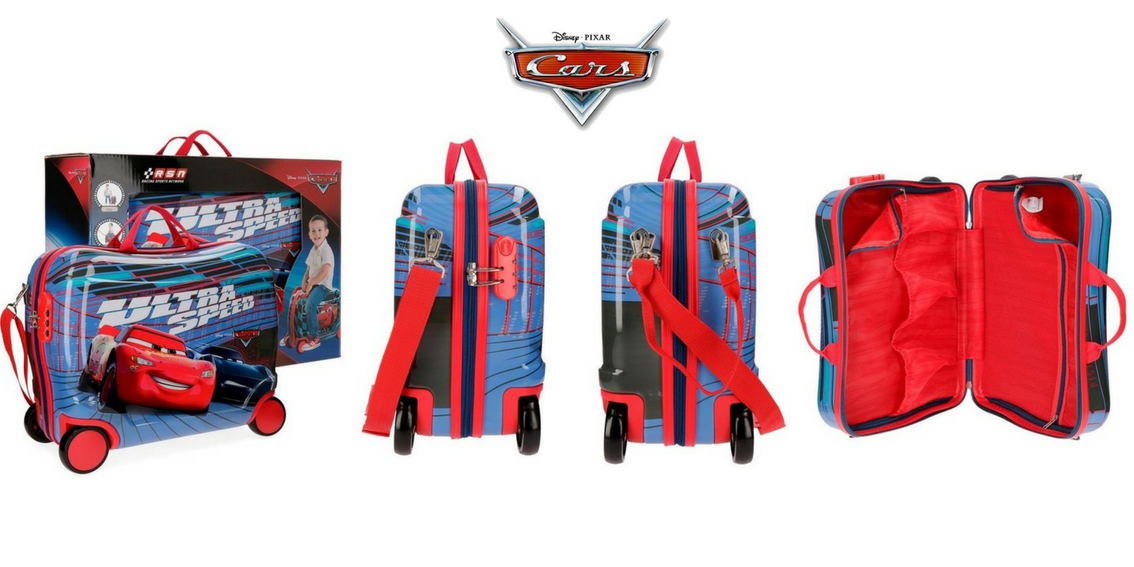 maletas correpasillos Cars
