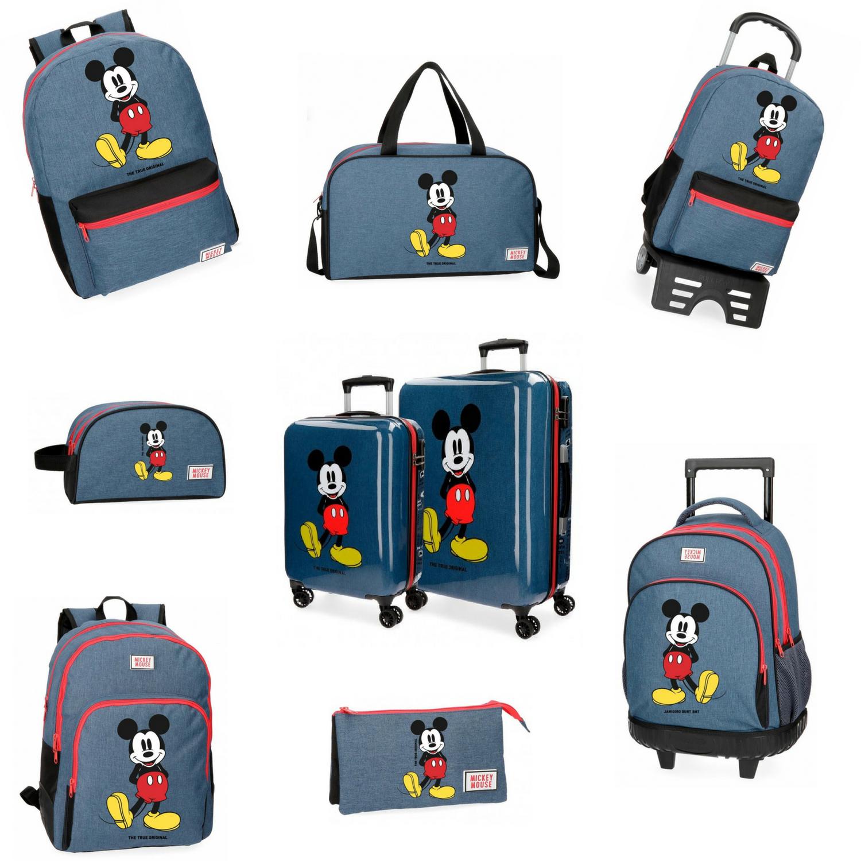 mochilas infantiles mickey blue