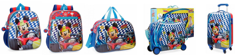 mochilas infantiles mickey race