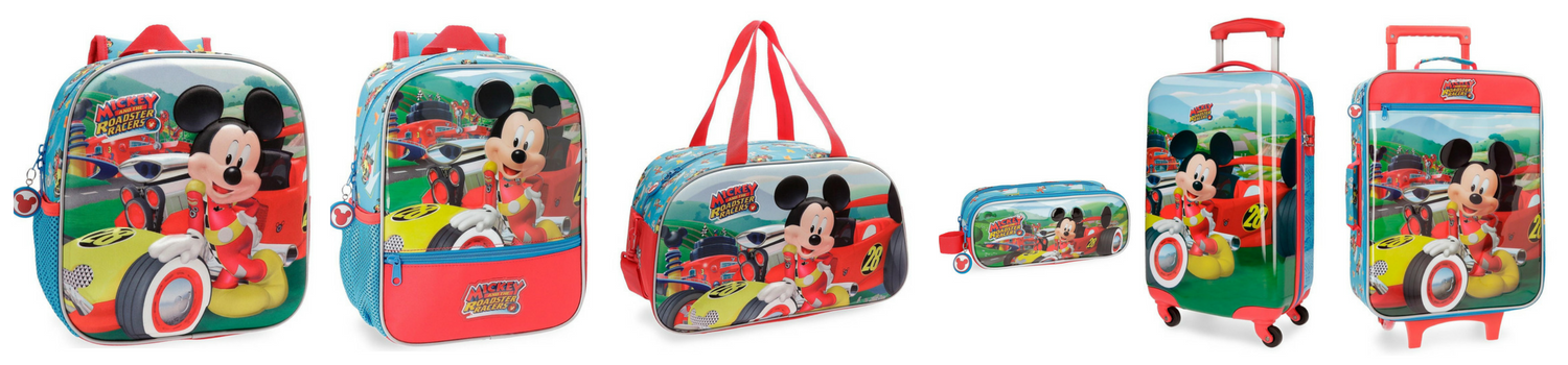 mochilas mickey roadster racers