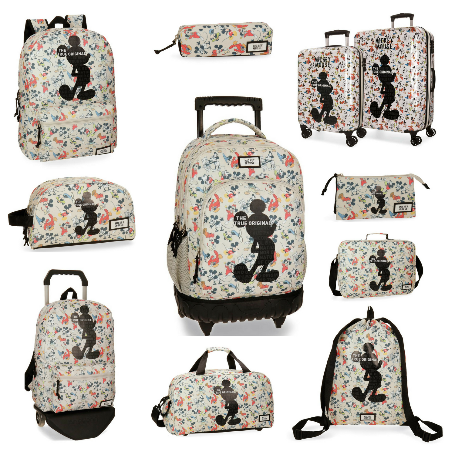 mochilas mickey true original